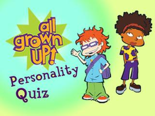 All Grown Up: Personality Quiz Game