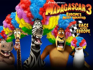 Madagascar 3 Race Across …