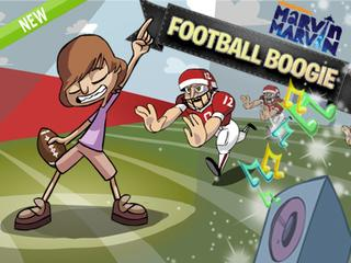 Marvin Marvin: Football Boogie Game
