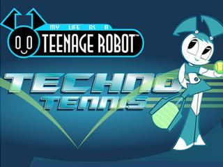 Teenage Robot Techno Tennis