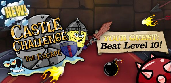 SpongeBob SquarePants: Castle Challenge - The Escape