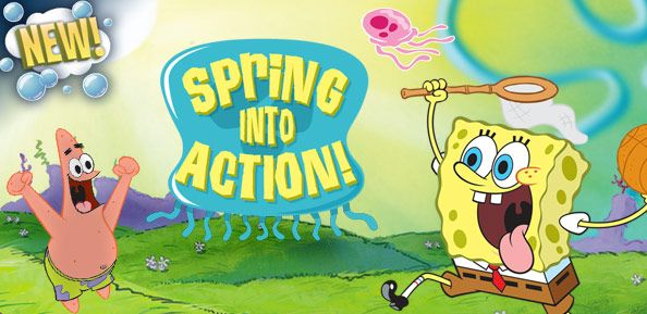 SpongeBob SquarePants: Spring Into Action