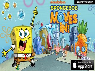 (AD) SpongeBob Moves In