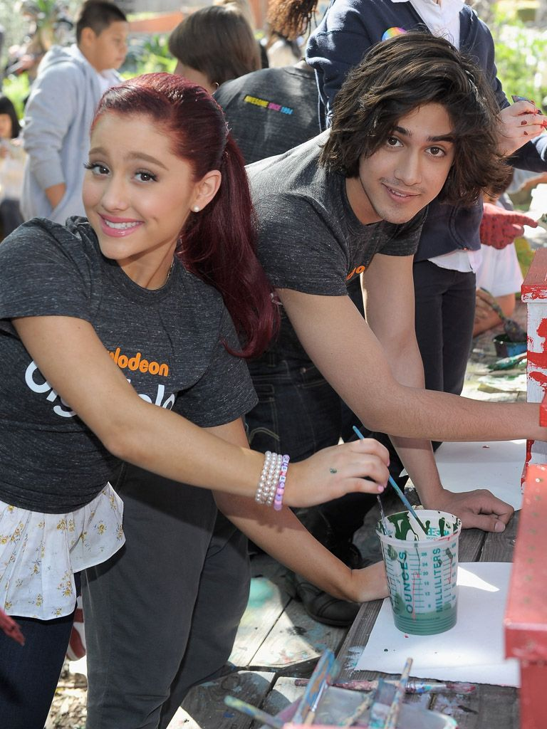 Colorful Cause|Avan Jogia and Ariana Grande are getting an art lesson they'll never forget!