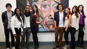 Nick Stars Volunteer: Visiting School In Washington picture