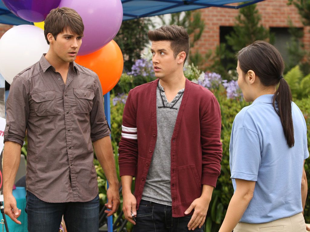 Not-So-Nice|Oh-oh. James is upset, and Logan's face has