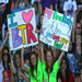 Standing Out|BTR fans sure know how to get our attention. Their bright shirts, big smiles, and crazy posters really let BTR know they're loved!
