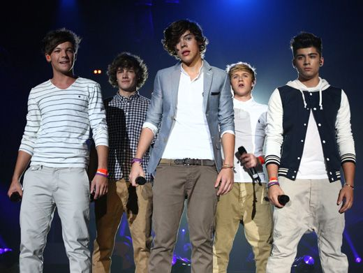 Forever Young|If you haven't seen One Direction live, you haven't lived. Here the band braces themselves for another knockout performance.
