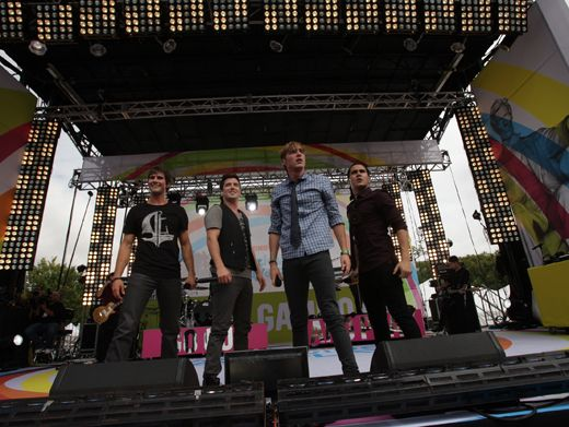 No End In Sight|Is this the end of BTR's WWDOP performance? Nah, they've still got a few more songs up their sleeves. Phew!