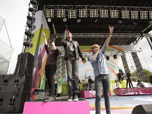 First Place|Big Time Rush may only be Halfway There, but we can already tell who's winning this race!