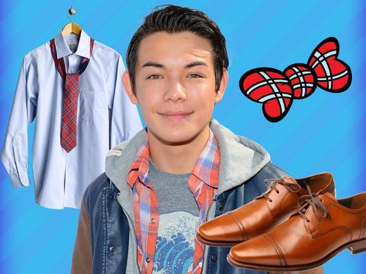 How to Dress Like Ryan Potter 1