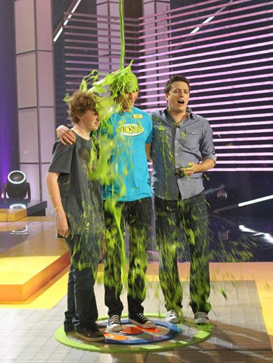 Surge Sludged|James learns just how they award the best brainiacs on BrainSurge...with a slime shower of globbery goo!