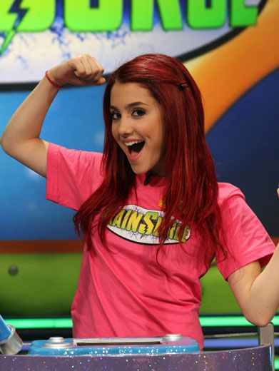Surge Protectors|Ariana's gargantuan girl guns can protect her from any sudden surge attack!
