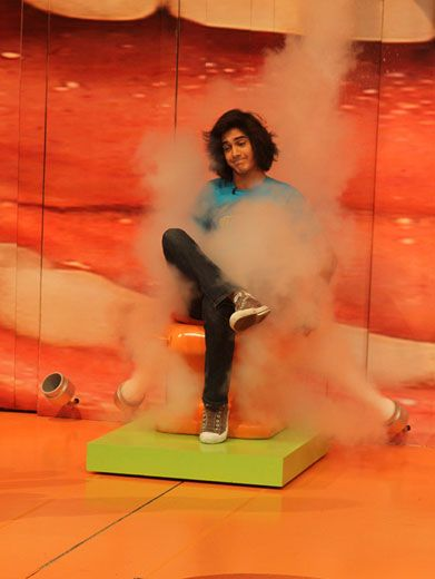 Gas Class|How is it that Avan Jogia still looks cool even when he's getting side-splashed with a gas bomb?