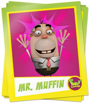 Mr. Hank Muffin Picture - Fanboy & Chum Chum