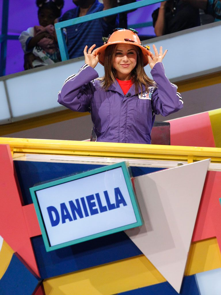 Ray of Sunshine|Orange-ya glad Daniella Monet is a guest panelist? Her bubbly attitude always tends to rub off on us. :)