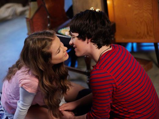 Pucker Up!|These lovebirds are meant to be...we're so rooting for Fabina!