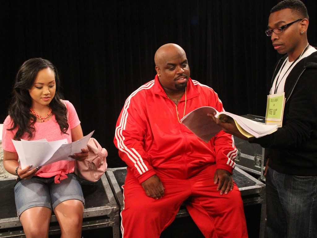 Final Run Through|Cee Lo and Kacey get ready before performing their new duet for the first time!