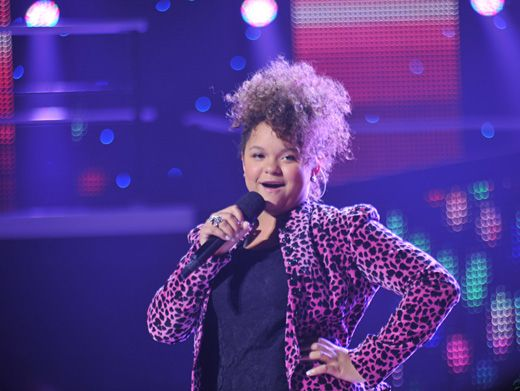 Sweet Vocals|Rachel Crow had the crowd going bananas with her rendition of Cee Lo Green's
