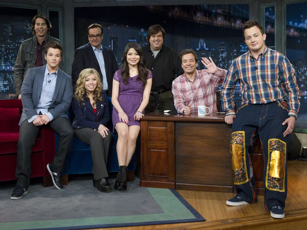 Late Night with Jimmy Fallon|iCarly moves from the web to the tube when they land a spot on Jimmy Fallon!! What could go wrong...?