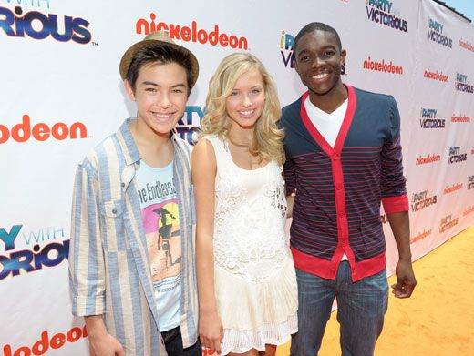 Supah Party Pals|The cast of Supah Ninjas wouldn't miss this awesome Orange Carpet premiere for the world! They had a total blast.