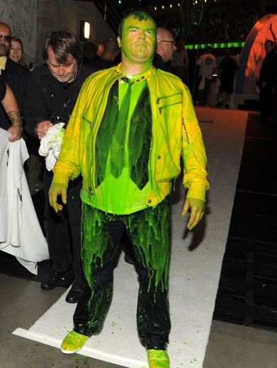 Slime Stance|Jack Black takes a moment to reflect on all of the fantastic slimy moments. It was slime-azing, wasn't it?