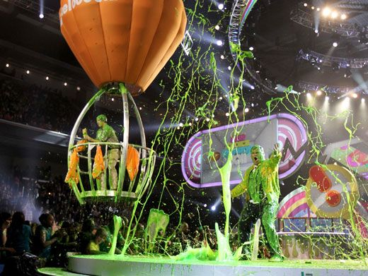 Fierce Finale|Talk about a slime-tactular moment! This goo-ey finale was the best we've ever seen at the KCAs!