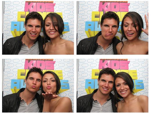 One In Amell-ion|Isn't Robbie Amell of True Jackson so cute?! So jeal of Italia Ricci. She gets to sit in the photo booth with this dreamboat!