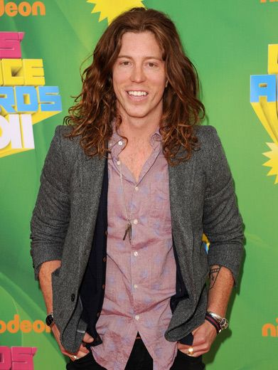 Flying Tomato|We kinda wish Shaun White wore his Olympic medal as accessories. Just sayin'.