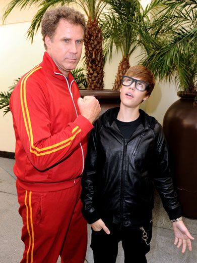 Foolish Ferrell|Will Ferrell is known for being a jokester, but when he teams up with Bieber the prankster, all bets are off. Just don't mess with his hair, Will!