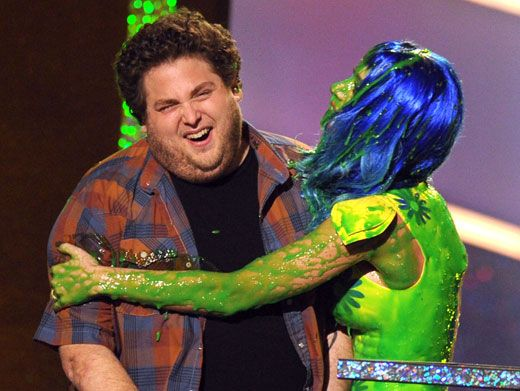 Sludge Hug!|Watch out Jonah Hill! KP is looking to spread the goo-flu!