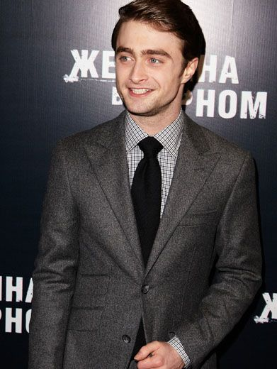 Dapper Daniel|Daniel Radcliffe shows off his suave side in a suit that's as handsome as he is!