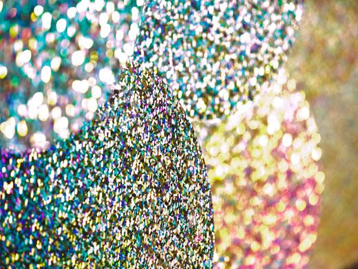 Disco Fever|Oooh, shiny objects! It's true. At the KCAs, almost everything will be covered in slime. And that includes reflective surfaces.