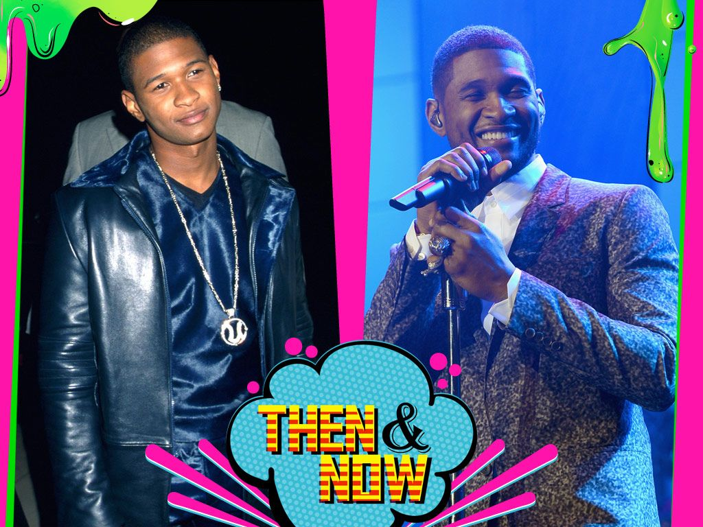 Usher|He traded in his shiny blue duds for some fly threads, and Usher looks (and sounds) better than ever.