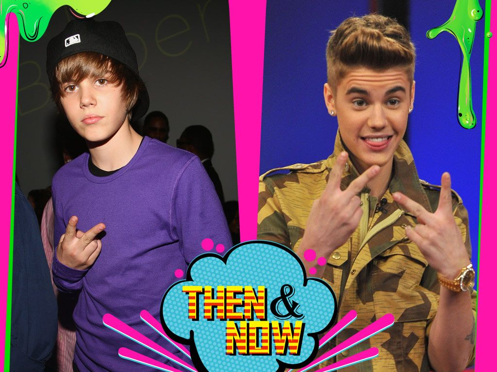 Justin Bieber|Justin is a lover, not a fighter and as he's gotten older, he's steadily increased his peace signs.
