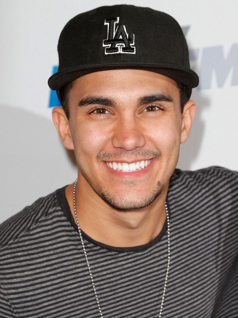 Carlos Pena!|This BTR frontman is a proud Latino with some amazing chops!