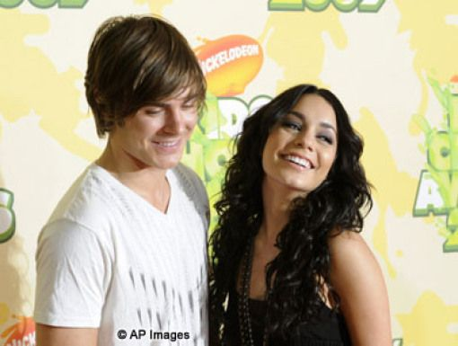 Zac Efron and Vanessa Hudgens|The