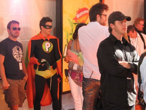 Pick Boy and Friends|Pick Boy's suited up to celebrate KCA superhero-style!