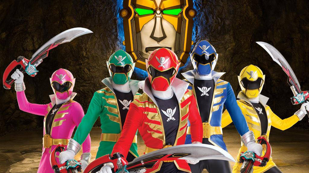 The power rangers are going super megaforce prove your all time