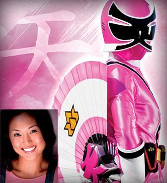 Pink Power Ranger Samurai
