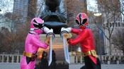 Power Rangers Hanging out in NYC pictures