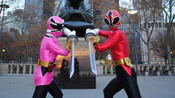 Power Rangers Hanging out in NYC picture