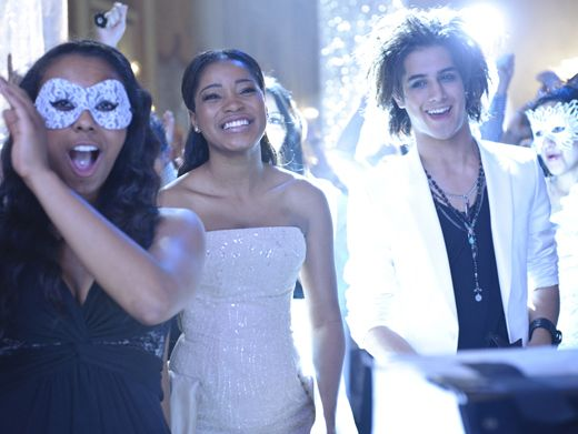 Masque Magic|With guests like Keke Palmer and Avan Jogia, that's one party we'd RSVP a big YES to!