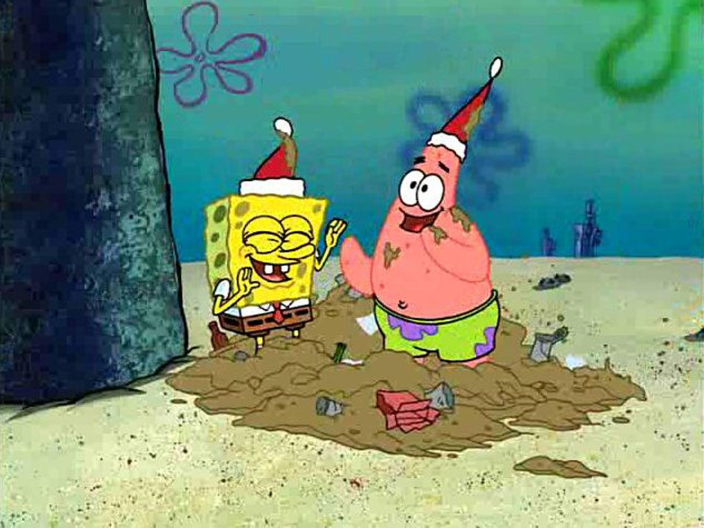 Dusty Dancing|Dirt or no dirt, Patrick and SpongeBob know how to party it up.
