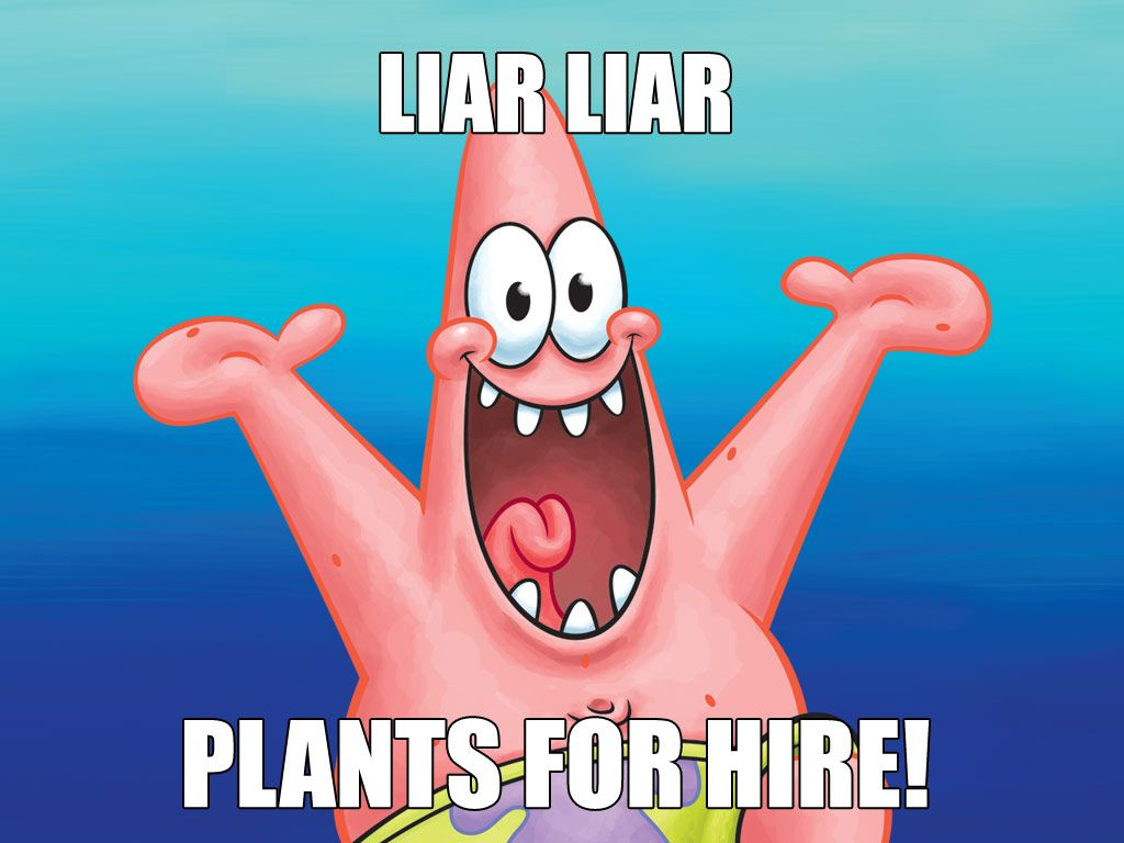 LIFE OF CRIME|According to Patrick, not only is SpongeBob a liar, he's also a balloon thief.