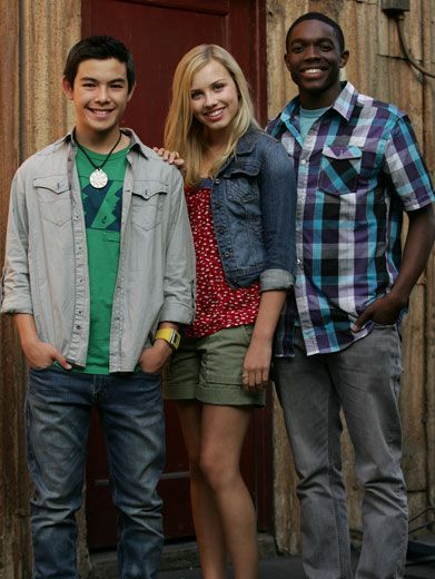 Three of a Kind|Gracie, Ryan, and Carlos are a lot alike. They're all awesome actors who know how to kick butt!