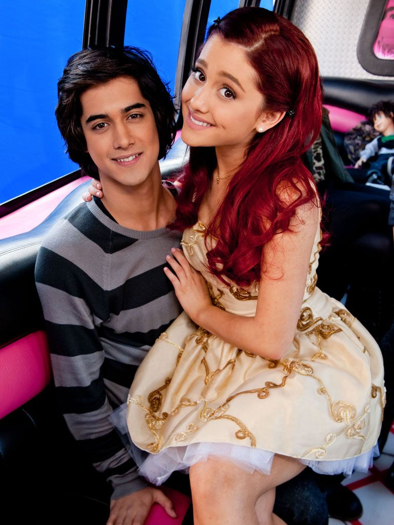 Comfy Commute|Avan Jogia and Ariana Grande take it easy on the hottest ride to school you could ask for.