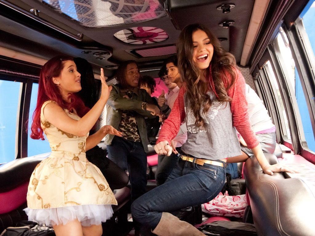 Dance Party Bus|Seems like the group is cranking sweet beats on the bus, if only every school bus was like this!