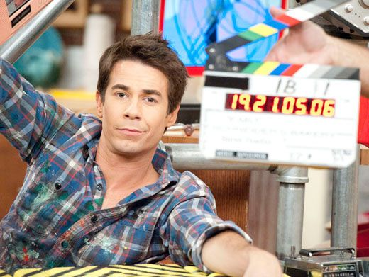 Lights, Camera, Flannel!|Jerry Trainor looks cool, calm and crazy-colorful on camera!