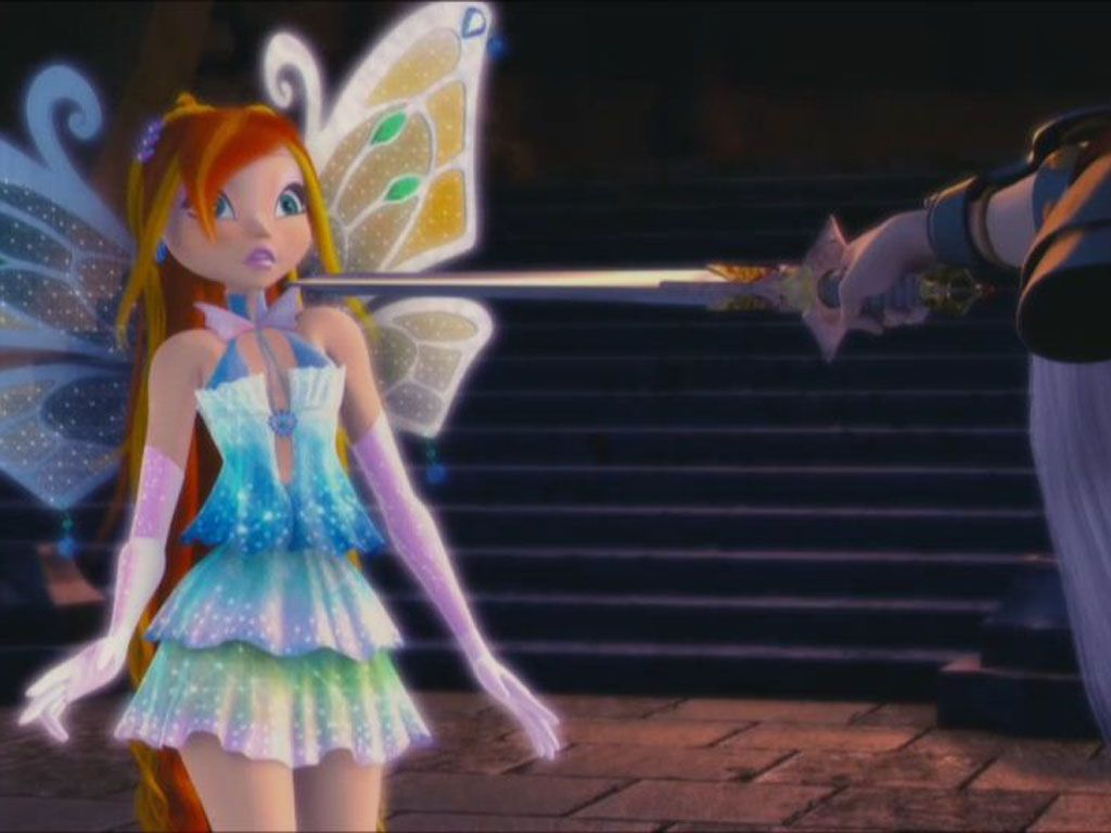 En Guarde!|While the Winx Club searched Hagan's Castle, Bloom was caught off-guard when she found who she was looking for.